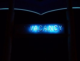 """""""vacancy"""" afbeelding van een vacature"""