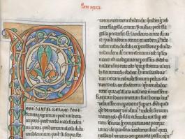 Een middeleeuws manuscript