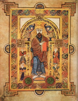 Fragment uit The Book of Kells