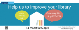 Campagnebeeld Help us to improve your library