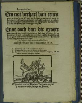 'krantje' Abraham Verhoeven (STCV 12861104)