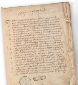 Iers handschrift