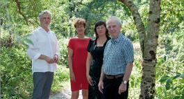 Mel Collier, Eva Wuyts, An Renard en Johan Eeckeloo
