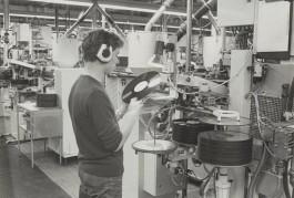 Persen van grammofoonplaten bij CBS