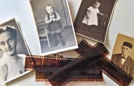Oude foto's en een onontwikkeld filmrolletje