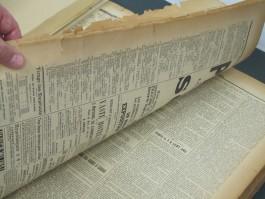 Historische krant