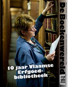 De cover van de Boekenwereld