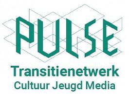 Logo Pulse Transitienetwerk Cultuur Jeugd Media