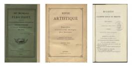 Afbeelding van de cover van drie tijdschriften