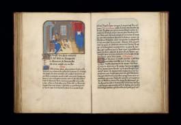 Afbeelding van een 15de-eeuws handschrift uit de Librije-collectie