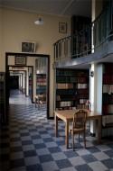 Leeszaal van de Bibliotheek Abdij van Averbode