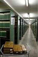 Magazijn van de Universiteitsbibliotheek Leuven