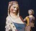 Beeld van de Virga Jesse