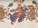 Detail uit de Bijbel van Anjou