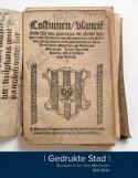 Cover Gedrukte Stad Drukken in en voor Mechelen 1581-1800