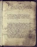 Pagina uit de Leuvense Schepenbankregisters