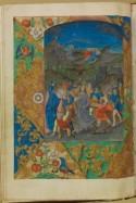 Detail uit Getijdenboek Zwarte Ogen Meesters
