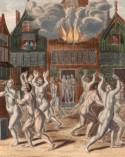 Wederdopers lopen naakt door Amsterdam, 1535