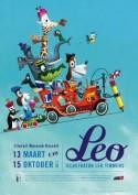 Affiche van de tentoonstelling 'LEO'