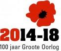 Logo projectsecretariaat '100 jaar Groote Oorlog (2014-18)'.