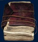 Boekband Afrique occidentale. XIXe siècle. BnF, Manuscrits orientaux.