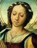 Afbeelding van St. Margaret op altaarstuk (1530-1535) © IMC / MC
