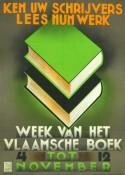 Affiche van de boekenbeurs