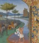 Jean Fouquet, Le Passage du Rubicon, Département des Arts graphiques, Louvre