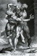 Prent van Johannes Muller - Sabijnse maagdenroof