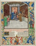 The author presenting his chronicle to Edward IV, Jean de Wavrin