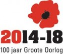 Logo 100 jaar Groote Oorlog 2014-18