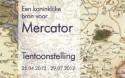 Affiche tentoonstelling 'Een koninklijke bron voor Mercator'