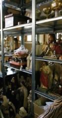 Religieuze erfgoedobjecten in opslagplaats