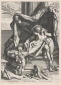 Goltzius 'Mars en Venus' 1588