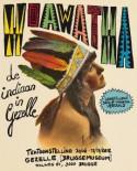 Affiche tentoonstelling 'De Indiaan in Gezelle'