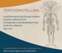 Affiche tentoonstelling '100 bijzondere woordenboeken Frans'