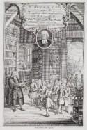 Gravure van J.Fokkema, 'Boerhaave over de kragten der medicijnin