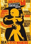 Affiche tentoonstelling 'Max Kisman'