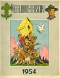 Voorpagina van de VVKS-kalender 'Wereldbroederschap', 1954. [KADOC KKA 900]