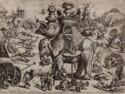 Joannes en Lucas Van Doetecum naar Allart Dehameel, de belegering van de olifant