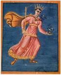 Het sterrenbeeld Pegasus, miniatuur uit het handschrift Aratea