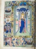 Handschrift 16, fol. 201 V uit de collectie van het Kasteel Huis Bergh