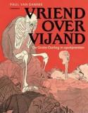 Cover van 'Vriend over vijand. De grote oorlog in spotprenten'