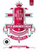 Logo van 25 jaar Open Monumentendag