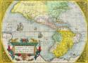 Wereldkaart van Ortelius
