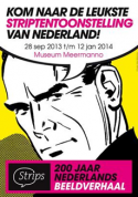 Affiche striptentoonstelling Meermanno