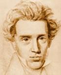 Schets van Søren Kierkegaard