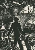 Zwart-witprent rond alle aspecten van migratie van Frans Masereel