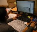 Een paleograaf aan het werk