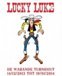 Affiche 'Lucky Luke, een zingende cowboy uit Vlaanderen'